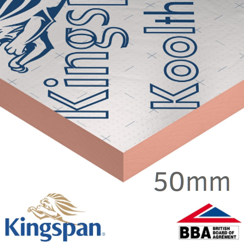 50mm Kingspan Kooltherm K112 Framing Board (pack of 6)