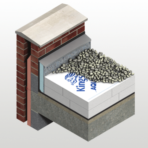 Kingspan Aquazone - Water Infiltration Reduction Membrane for Inverted Roofs