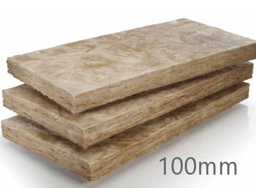 100mm Rockwool Cavity Insulation Batt Glass Mineral Wool