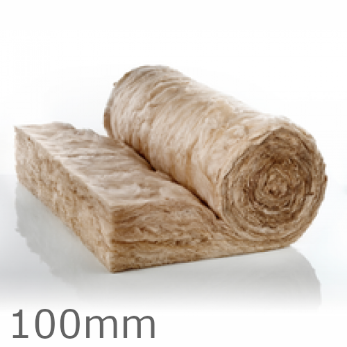 100mm Earthwool Loft Roll 44 (Combi-cut)