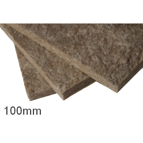 100mm Earthwool Flexible Insulation Slabs Knauf (pack of 6)