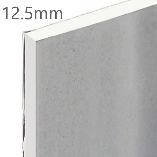 12.5mm Knauf Vapour Panel - Foil Backed Plasterboard 1200x2400mm