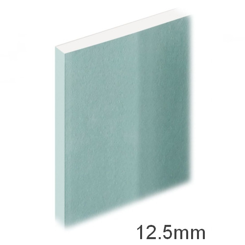 12.5mm Moistureshield Plasterboard - Wall Board Knauf