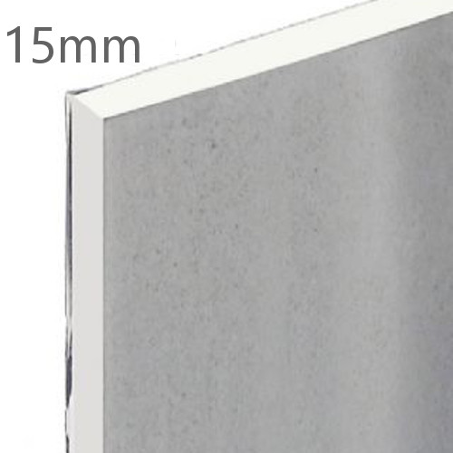15mm Knauf Vapour Panel - Foil Backed Plasterboard 1200x2400mm