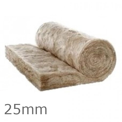 25mm Earthwool Acoustic Insulation Roll Knauf (Split 2 x 600mm)