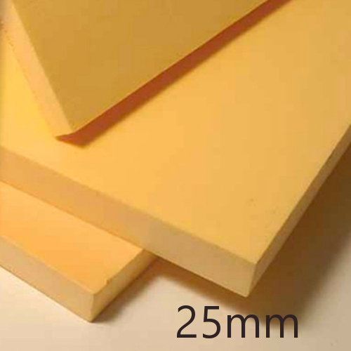 25mm Ravatherm Polyfoam Floorboard - Standard grade - Extruded Polystyrene Board (pack of 18)