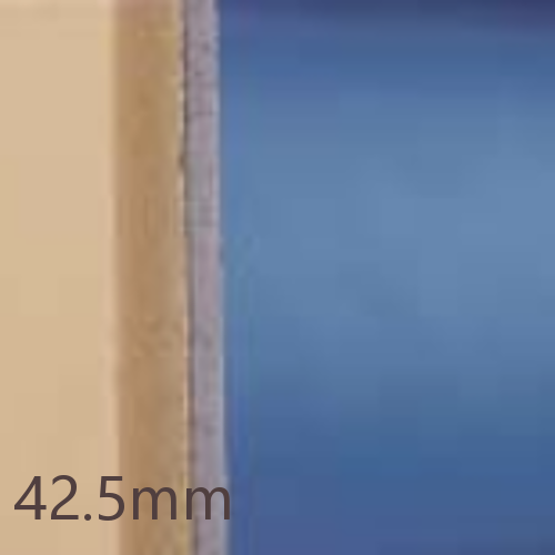42.5mm Knauf Polyfoam Linerboard - 30mm Extruded Polystyrene (XPS) + 12.5mm Plasterboard