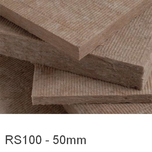 50mm Earthwool RS100 Universal Insulation Slab Knauf (pack of 6)