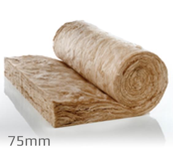 75mm Knauf Earthwool Rafter Roll (pallet of 24)
