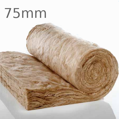 75mm Knauf Earthwool Rafter Roll (pallet of 24)