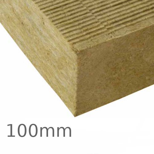 100mm Knauf Rocksilk Krimpact Flat Roof Slab - pack of 24