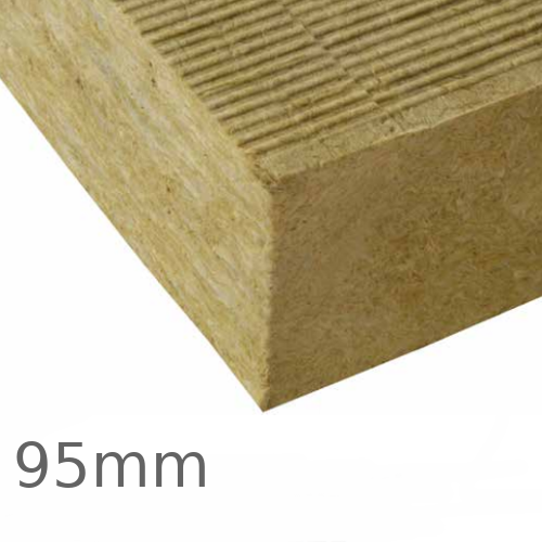 95mm Knauf Rocksilk Krimpact Flat Roof Slab Extra - pack of 24