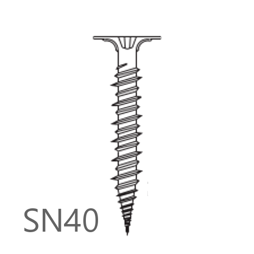 Knauf Aquapanel Rustproofed Screws SN40 - box of 250