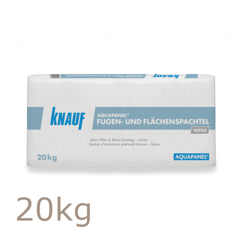 Knauf Aquapanel Joint Filler and Skim Coat - White - 20 Kg