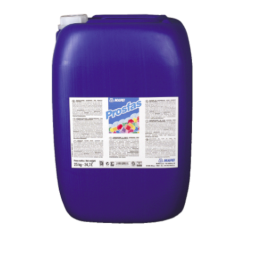 25kg Mapei Prosfas - Water-based, Solvent-free Consolidator for Cementitious Substrates