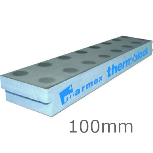 Marmox Thermoblock 100mm (box of 18).