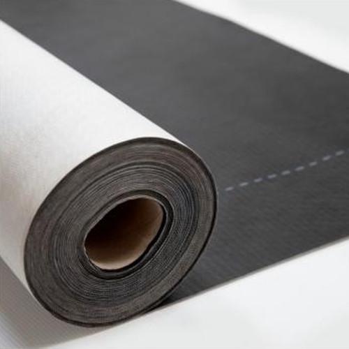 Novia Black 115GSM Roof and Wall Breather 1.5m x 50m Roll