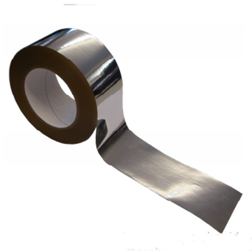 60mm Novia Metallised BOPP (Biaxially Oriented Polypropylene) tape 50m roll