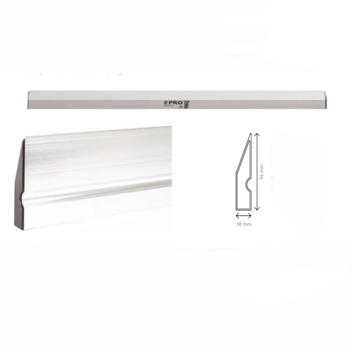 1500mm Plasterer's Aluminium Feather Edge Batten PRO