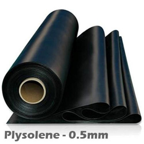0.5mm Plysolene PIB Thermoplastic Sheeting 1m x 25m