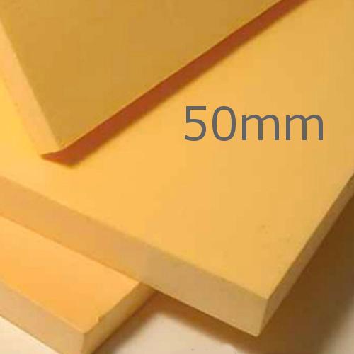 50mm Ravatherm Polyfoam Floorboard - Super grade - Extruded Polystyrene Board (pack of 8)