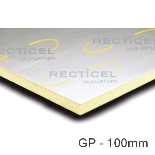 100mm Eurethane GP PIR Insulation Board Recticel