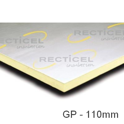 110mm Eurethane GP PIR Insulation Board Recticel