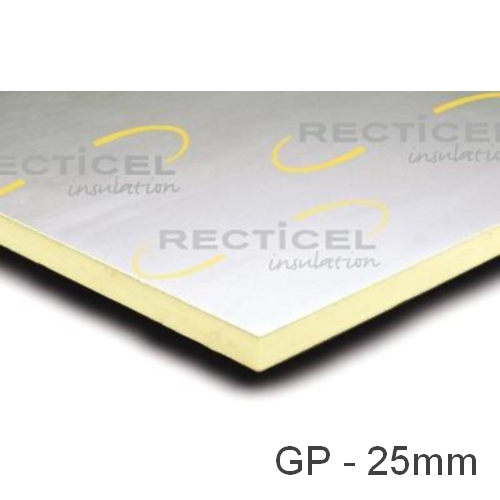 25mm Eurethane GP PIR Insulation Board Recticel
