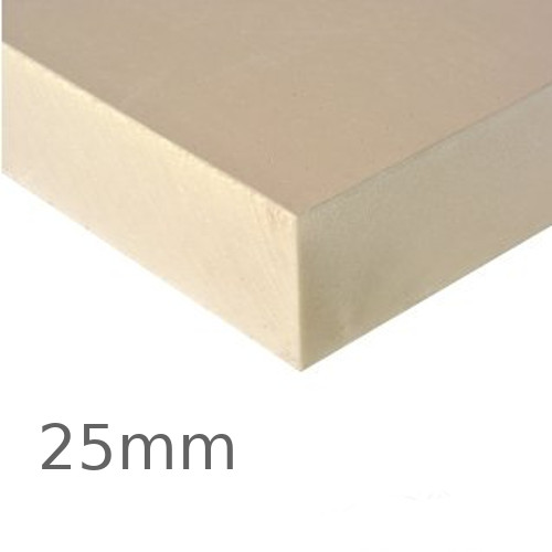 25mm Recticel Powerdeck F PIR Insulation Board for Bonded Warm Roof Systems - pack of 20