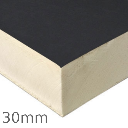30mm Recticel Powerdeck U PIR Insulation Board for Flat Roof Hot Applied Systems - pack of 16
