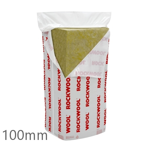 100mm rockwool rwa45 slab prorox sl920 rock mineral for Rockwool sound insulation