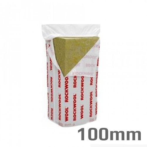 100mm Rockwool Flexi Insulation Slab 1200mm x 600mm (pack of 6)