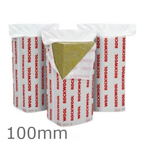 100mm Rockwool Flexi Insulation Slab 1200 x 400mm (pack of 6)