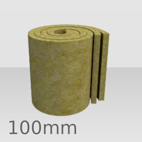 100mm Rockwool Twin Roll Loft Insulation