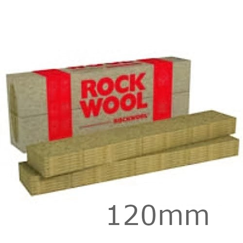 120mm Rockwool Fasrock-LL External Wall Insulation Slab 1200mm x 200mm (pack of 6)
