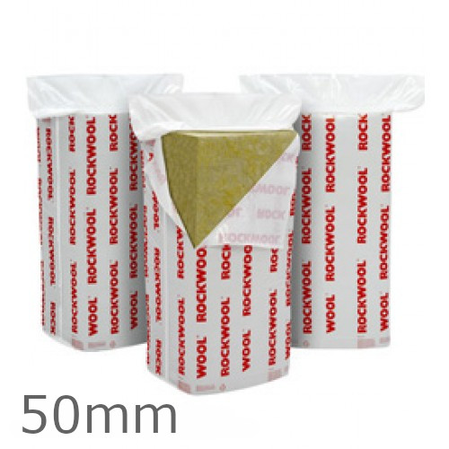 50mm Rockwool Flexi Insulation Slab 1200 x 400mm (pack of 12)