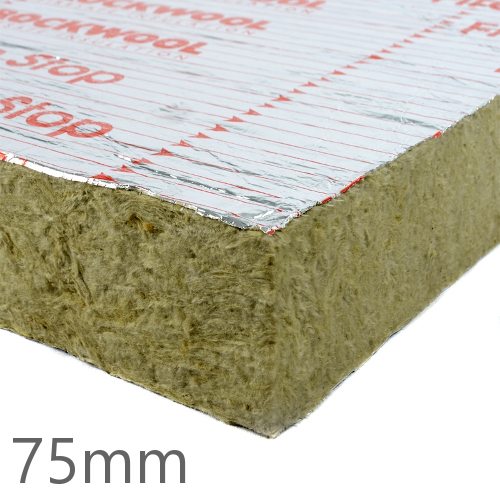 75mm Rockwool SP60 Firestop Cavity Slab (pack of 4)