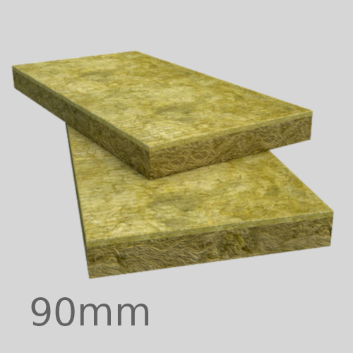 90mm Rockwool Rainscreen Duo Slab (pack of 4) - pallet of 12