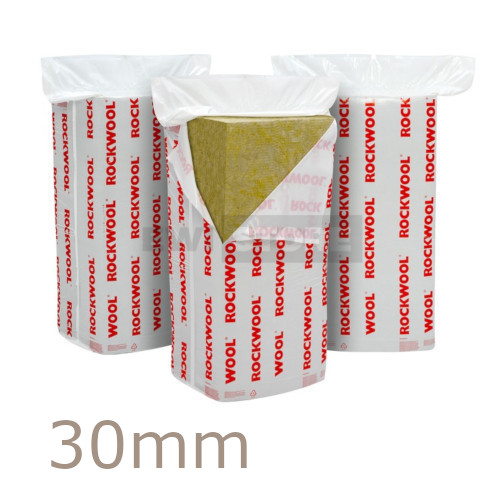 30mm Rockwool Dual Density Slab for Insulated Renders (pack of 5)