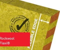 90mm Rockwool Flexi Insulation Slab 1200mm X 600mm