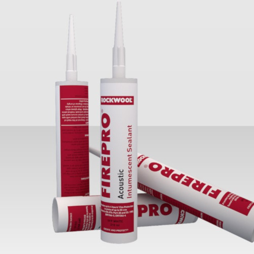 Rockwool Firepro Acoustic and Intumescent Sealant - 310ml