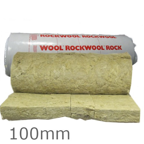 100mm rockwool rollbatt loft insulation rock wool insulation for Cost of mineral wool vs fiberglass insulation