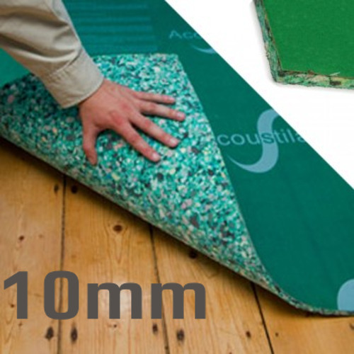 10mm Acoustilay 3 Sound Reduction Flooring Underlayment