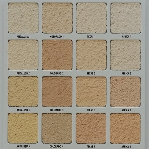 Ceresit Renders Colour Samples Book - stone texture, 1.5mm Grain (real, 210 colours).