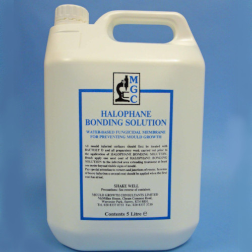 Halophane Bonding Solution - Penetrating Solution - Fungicidal Barrier - 5 Litre