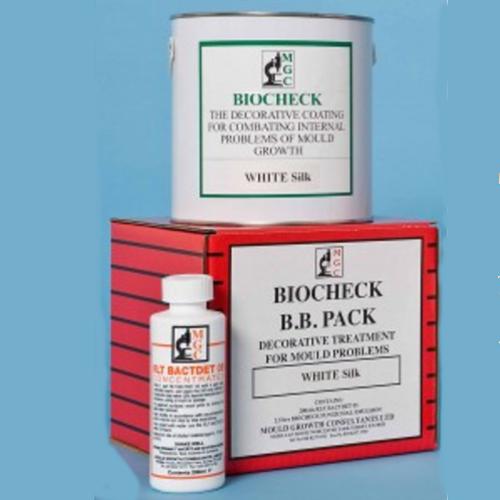 MGC Biocheck BB Pack - Mould Treatment  for 10-12m2 - Matt