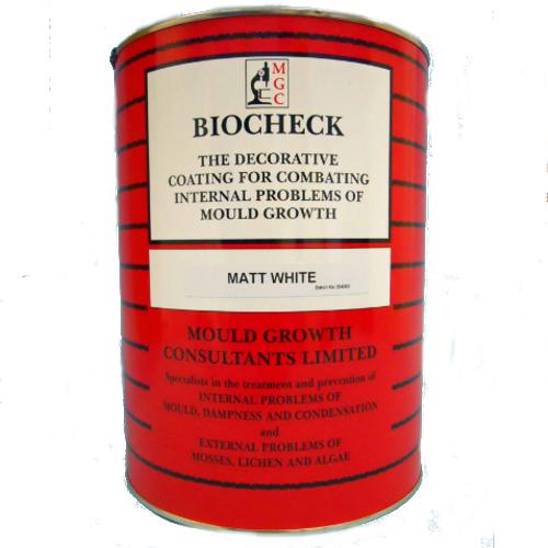 Biocheck Fungicidal Emulsion Paint - Matt - 5 litres