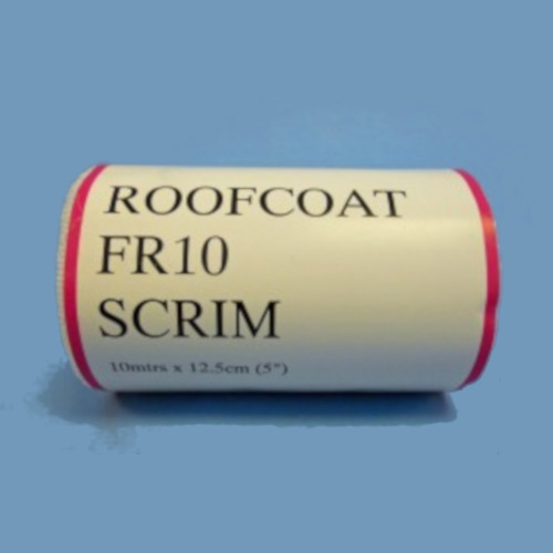 Roofcoat FR10 Scrim (White) - 10m x 12.5cm