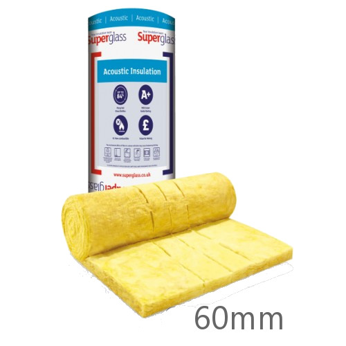 60mm Superglass Multi Acoustic Insulation Roll (Split 2 x 600mm)