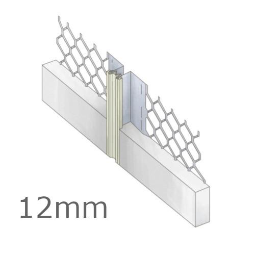 12mm Galvanised Movement Mesh Bead 3m length